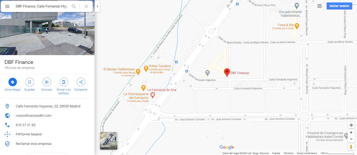 mi negocio en Google Maps